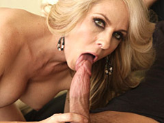 Blonde milf loves to suck cock videos