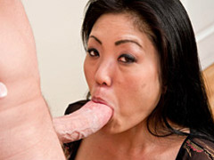 Asian sucks big white cock tubes at chinese.sgirls.net