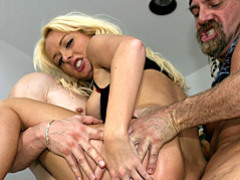 She craves two hard dicks movies