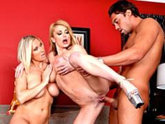 Two busty sluts fucked videos