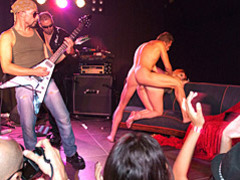 Public sex at rock show movies at freekiloclips.com