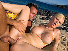 Big tits blonde beach sex movies at adspics.com