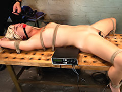 Electro shock for bondage girl videos
