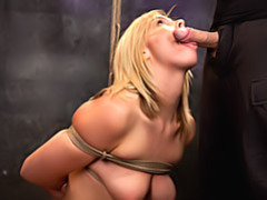 Slave girl sucks dick lustily videos