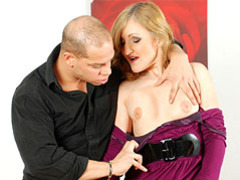 Lustful mom jarka sucks a cock and spreads her cunt videos