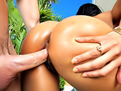 Doggy style with super hot black girl movies at kilosex.com