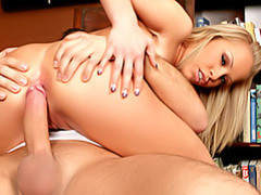 She blows for deep anal movies at adspics.com