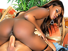 Black girl rides white cock videos