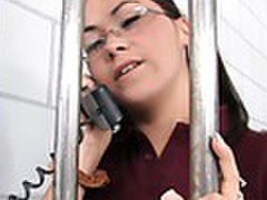 Cute teen fucked in prison movies at freekiloclips.com