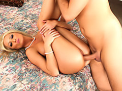 Blonde wife in pearls movies at sgirls.net