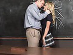 Busty blonde mckenzee miles getting fucked by the school dean videos