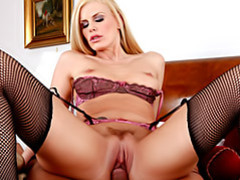 Your luscious housewife in stockings movies at sgirls.net