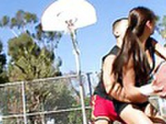Busty asian cutie getting fucked hard by her basketball coach tubes at sgirls.net