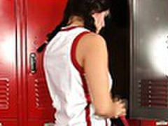 Horny teen fucked in the locker room by her pe teacher movies