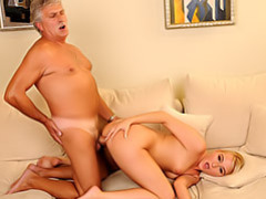 Big load from grandpa movies at sgirls.net
