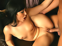Slim girl loves big cock movies