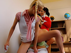Girls torture a teacher movies