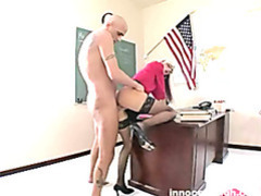 Lovely blonde working student fucking her prof for more considerations on her performance movies at sgirls.net