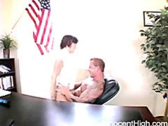 Brunette chick riding her horny teacher movies at kilopills.com