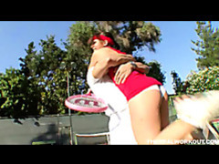 Rich girl penny flame rammed hard by her tennis coach movies at kilopics.net