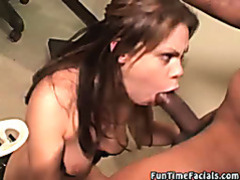 Interracial blowjob video tubes