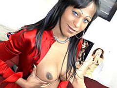 Black tranny gives cock videos