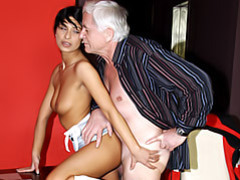 Girl likes a grandpa movies at kilosex.com