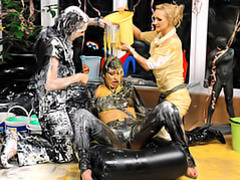 Girls covered in goo movies at find-best-babes.com