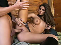 Tanned hottie fucked movies at relaxxx.net