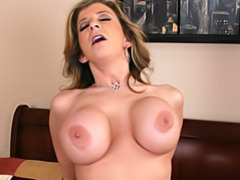 Busty mom riding movies