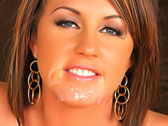 Creamy facial for a slut videos
