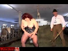 Painsex.tv doublefisted extreme slave videos