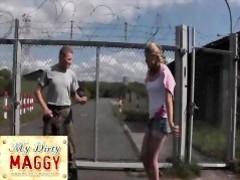 My-dirty-maggy.com the drill sergeant videos
