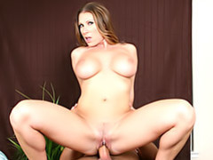 Mom sits on cock videos