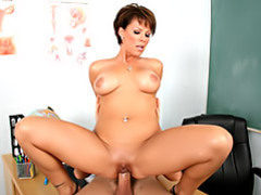 Teacher sits on cock movies at find-best-panties.com