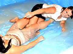 Sloppy sluts wrestling videos