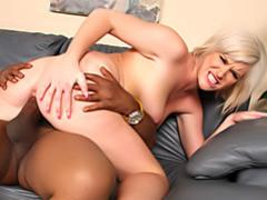Black cock riding slut videos