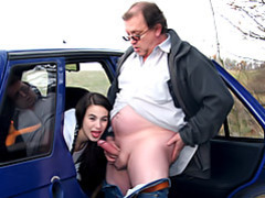 Teen sex in a car movies at relaxxx.net