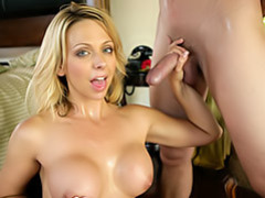 Cum covered tits! movies at sgirls.net