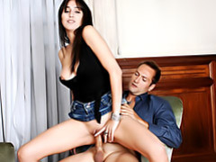 Latin slut on top movies at freekilomovies.com