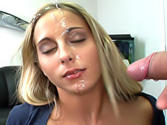 Amateur facial movies