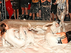 Mud wrestling sluts videos