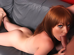 Pretty redhead sucking movies at kilosex.com
