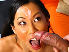 Hot asian facial movies at freekiloporn.com