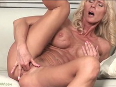 Fit blonde mature with big titties fingers box movies at sgirls.net