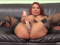 Double anal dildo sex with ava devine movies at find-best-lingerie.com