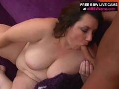 Bbw in pink satin sucks cock with passion movies at sgirls.net