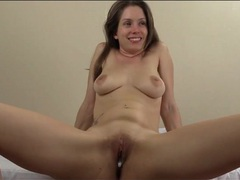 Making love to a pretty girl in missionary movies at sgirls.net
