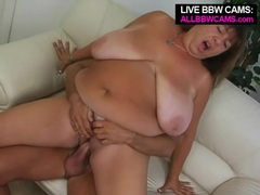 Mature bbw fucked in her beautiful pussy videos