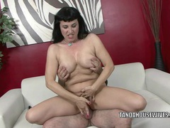 Busty milf claudine gets her mature twat fucked hard tubes